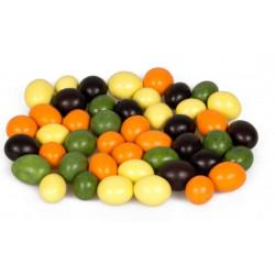 Arašídy v barevné polevě